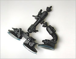 fat gecko三点支持吸盤式カメラマウント 取り付け方法