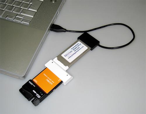 EX111 データ通信アダプタ(エクスプレスカード)用USB接続ケーブルが発売になりました