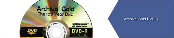 DVD-R アーカイブゴールド Delkin