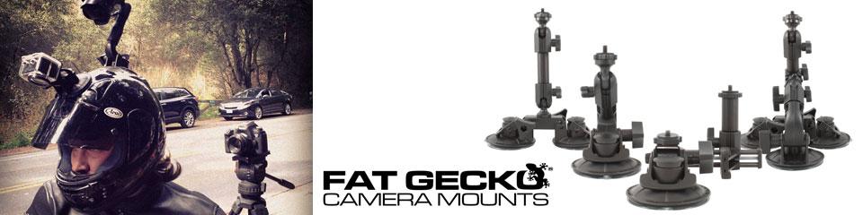 <h1>アウトドアスポーツ用カメラマウント FatGecko </h1>