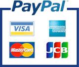 使えるクレジットカードはVISA/MasterCard/JCB/AMEX/DINERS/