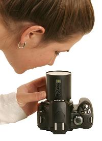 センサースコープで撮像素子を確認