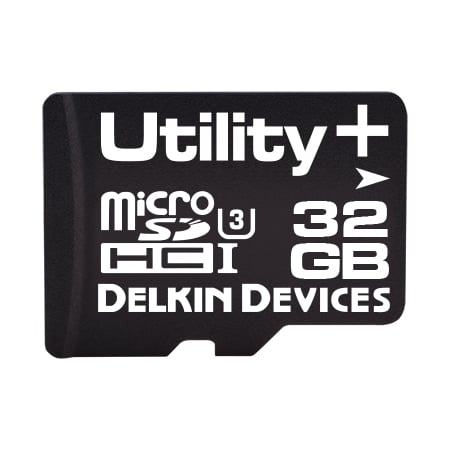 32GB Utility+ microSD (MLC) with SMART SDアダプタなし