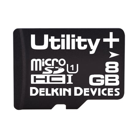 8GB Utility+ microSD (MLC) with SMART SDアダプタなし