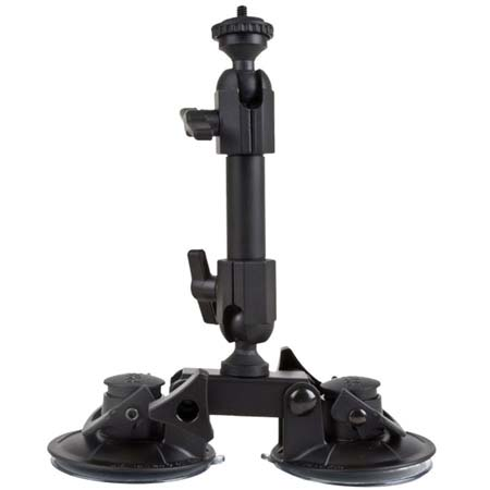 自転車の 自転車 車載カメラ 振動 : Heavy Suction Cup Camera Mount