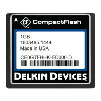 1GB CF (SLC) Industrial Ext Temp DMA-ON Fixed RoHS