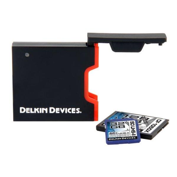 画像2: UHS-II UDMA7対応USB3.0 CF/SDカードリーダ  [DDREADER44]