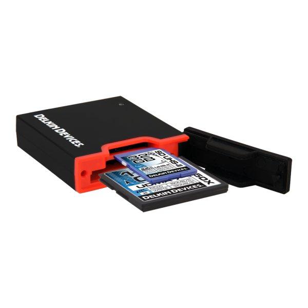 画像1: UHS-II UDMA7対応USB3.0 CF/SDカードリーダ  [DDREADER44]
