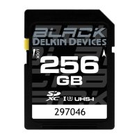 256GB BLACK SD UHS-I (U3/V30) SDカード