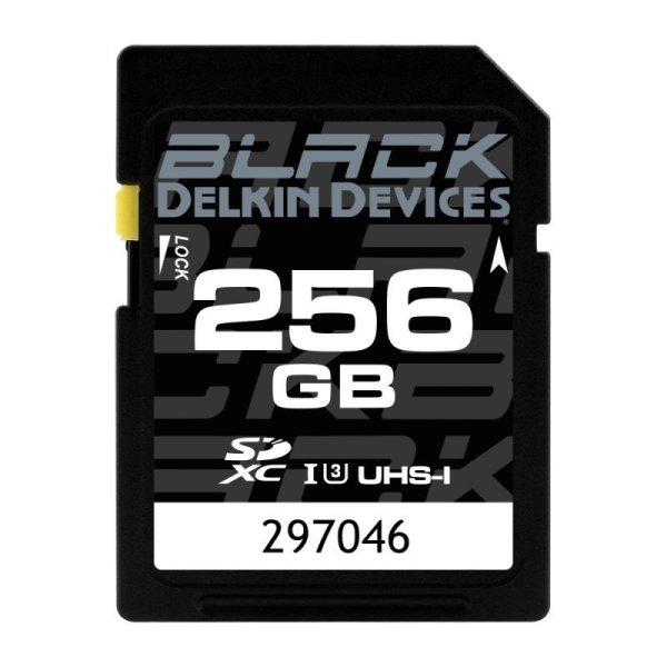 画像1: 256GB BLACK SD UHS-I (U3/V30) SDカード
