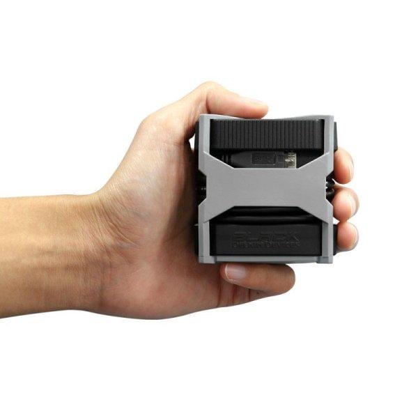 画像5: UDMA7 CF UHS-II SD/microSD対応 USB3.0 3スロットBlackカードリーダ  [DDREADER50]