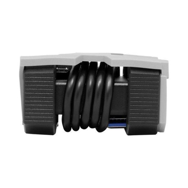 画像4: UDMA7 CF UHS-II SD/microSD対応 USB3.0 3スロットBlackカードリーダ  [DDREADER50]