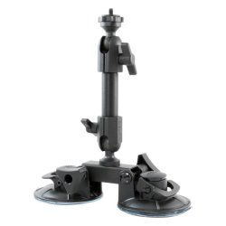 Fat Gecko 2点支持マウント 吸盤式カメラマウント[DDFG-SCTN]