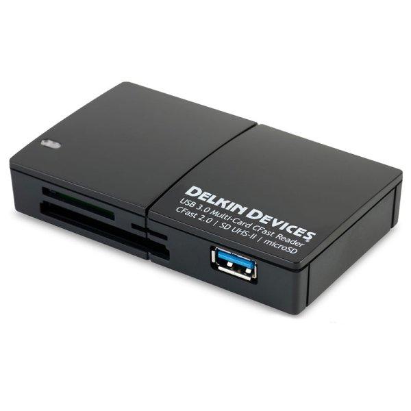 画像2: CFast 2.0 & SD UHS-II 対応USB3.0 マルチスロットカードリーダ  [DDREADER48]