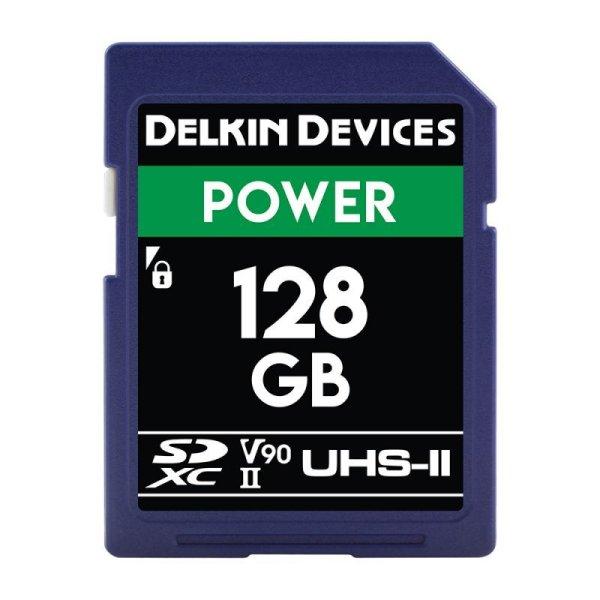 画像1: Delkin Devices 128GB POWER SDXC UHS-II (U3/V90) SDカード