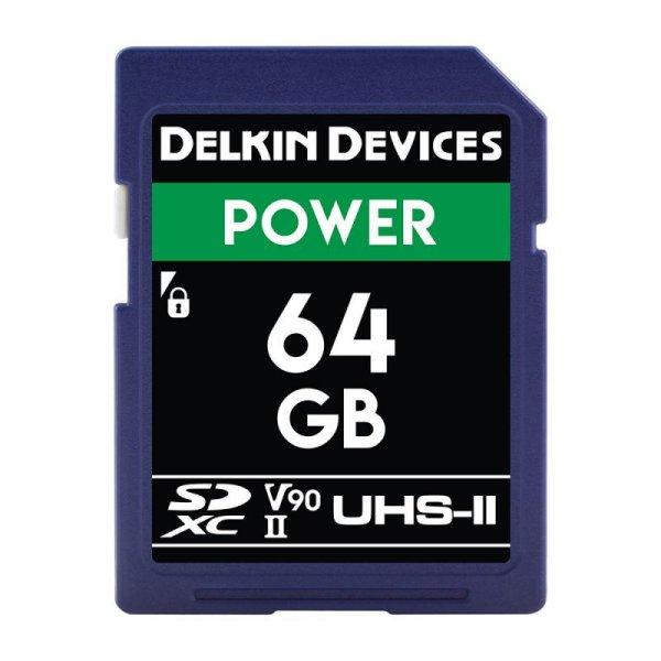 画像1: Delkin Devices 64GB POWER SDXC UHS-II (U3/V90) SDカード