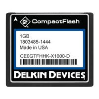 1GB CF (SLC) Industrial Ext Temp DMA-OFF Removable Drive