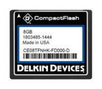 8GB CF (SLC) Industrial Ext Temp DMA-ON Fixed Drive