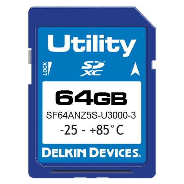 画像1: 64GB Utility SD MLC -25/85℃