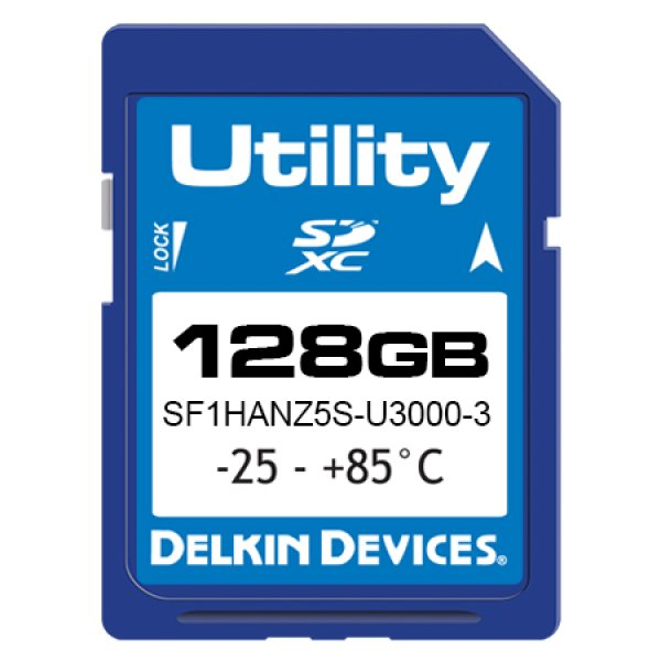 画像1: 128GB Utility SD MLC -25/85℃