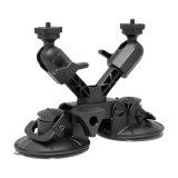 Fat Gecko Xマウント 2ヘッド2点支持吸盤式カメラマウント[DDFG-X-DUAL]