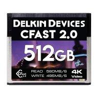 512GB CFast 2.0 シネマメモリーカード