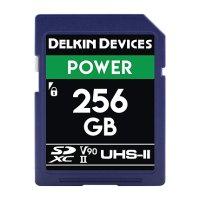 Delkin Devices 256GB POWER SDXC UHS-II (U3/V90) SDカード