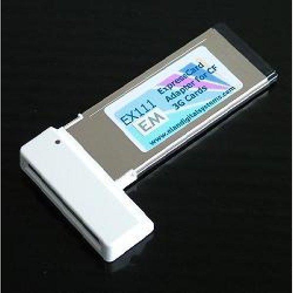 画像1: emobile データ通信端末用エクスプレスカードアダプタ [EX111-em]
