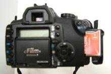 製品写真1: JOBO SDHC/CF変換アダプタ