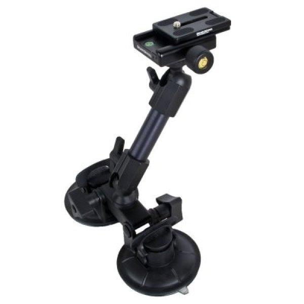 画像1: FatGecko 吸盤式カメラマウント + クイックリリースキット お買い得セット [DDFG-SCTN-QKRLS]