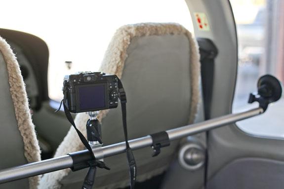 車載用カメラステー&マウント