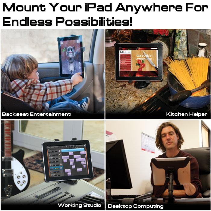 FatGecko用iPadホルダーマウント