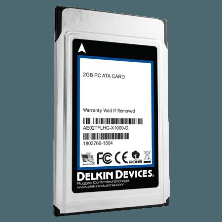 Delkin 産業用ATA PCカード