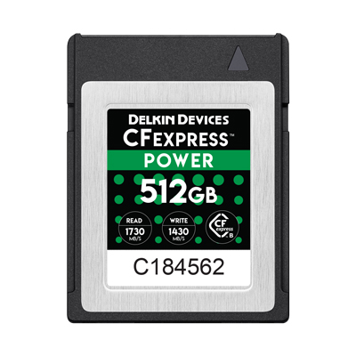CFexpress POWER 512GB