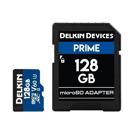 Delkin Prime microSD X1900シリーズ