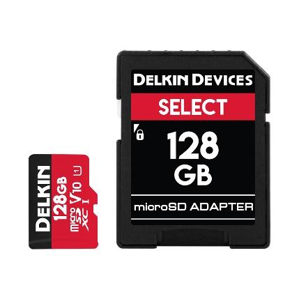 Delkin SelectシリーズmicroSD