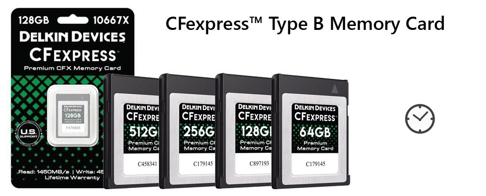 CFX CFexpressメモリーカード