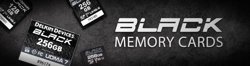 DELKIN BLACK メモリーカード