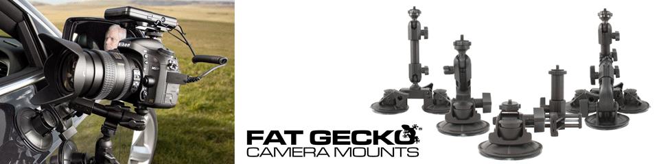 Delkin FatGecko カメラマウントは様々な分野で使われています