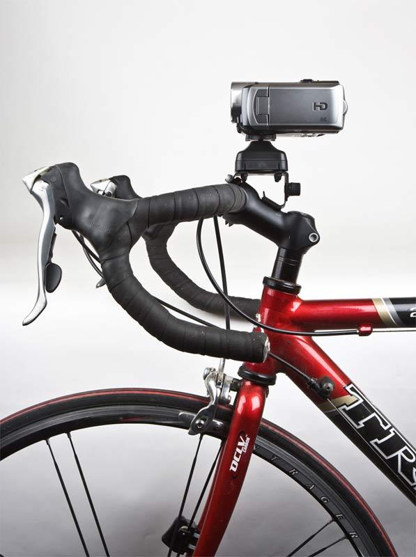 FAT GECKO自転車用カメラマウント 装着例