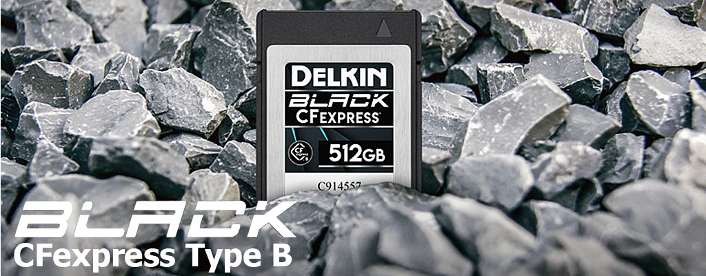 Delkin BLACK CFexpressメモリーカード