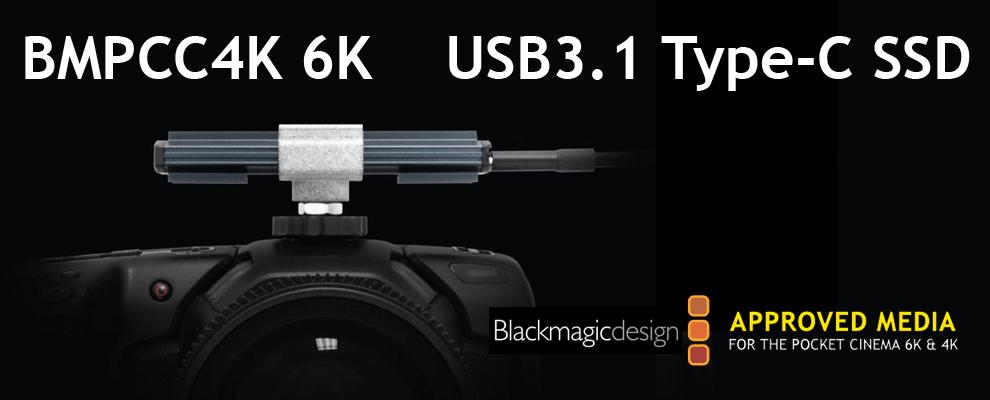 USB3.1 Gen2 type-C cinema SSD