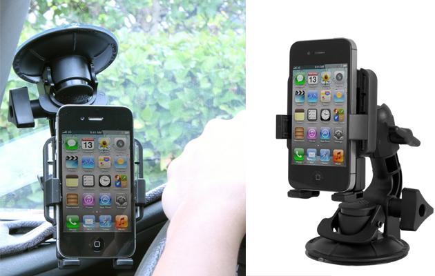 スマートフォンホルダーをFatGecko miniに取り付け