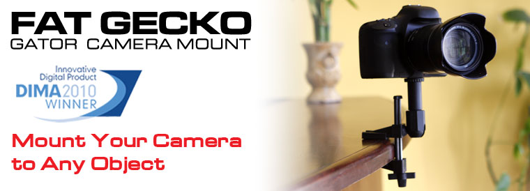 fat gecko ゲーターカメラマウント