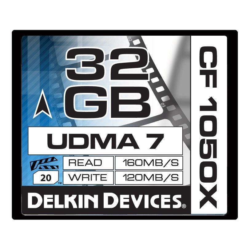 32GB CF 1050X UDMA7シネマメモリーカード [DDCF1050-32GB]