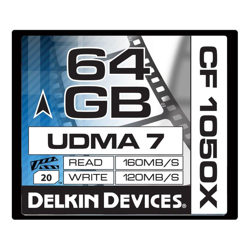 64GB CF 1050X UDMA7シネマメモリーカード [DDCF1050-64GB]