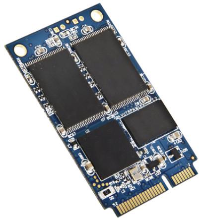32GB mSATA SSD, SATA III, MLC, Ind Temp -40~+ 85°C