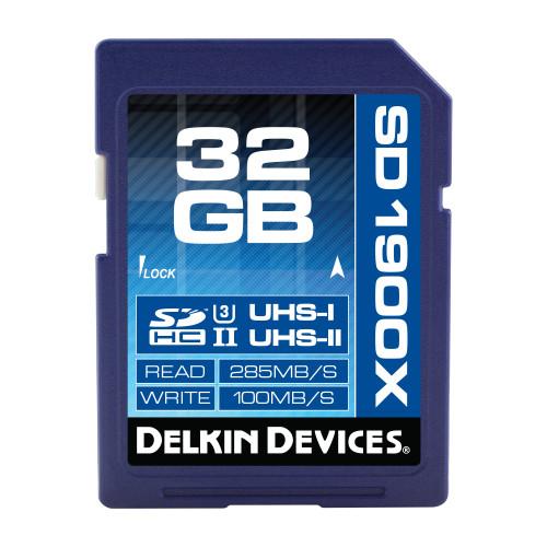 32GB SDXC 1900X UHS-I/UHS-II (U3) SDカード