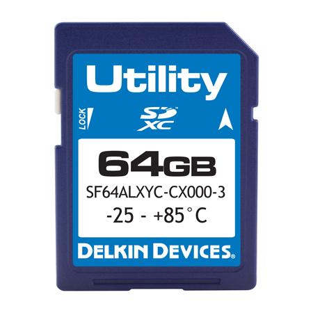 64GB Utility SD MLC -25/85℃