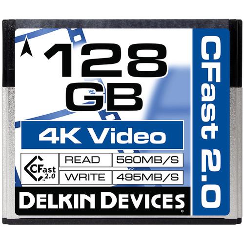 128GB CFast 2.0 シネマメモリーカード [DDCFST560128]